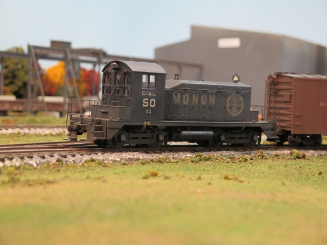 An SW1 in the yard