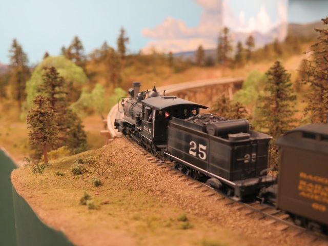 4-6-0 #25 on Dale's layout