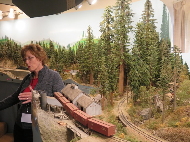 The Big Trees area of the layout was quite impressive. I think there was a NG&SLG article on building the large trees.